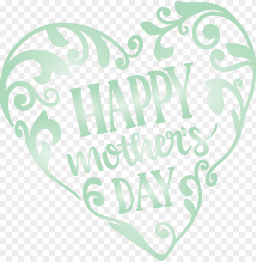free PNG Mother's Day Text Heart Font for Mothers Day Calligraphy for Mothers Day PNG image with transparent background PNG images transparent