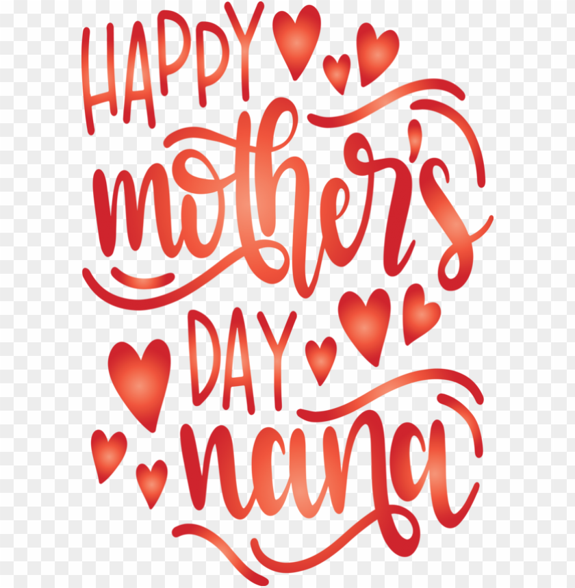 free PNG Mother's Day Text Heart Love for Mothers Day Calligraphy for Mothers Day PNG image with transparent background PNG images transparent