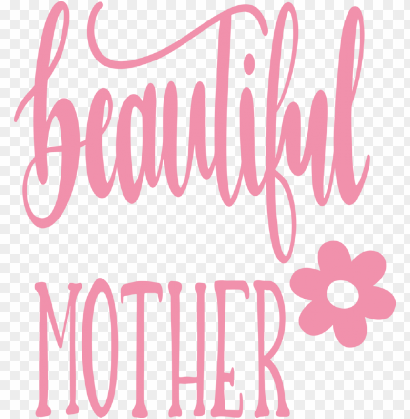 free PNG Mother's Day Text Pink Font for Mothers Day Calligraphy for Mothers Day PNG image with transparent background PNG images transparent