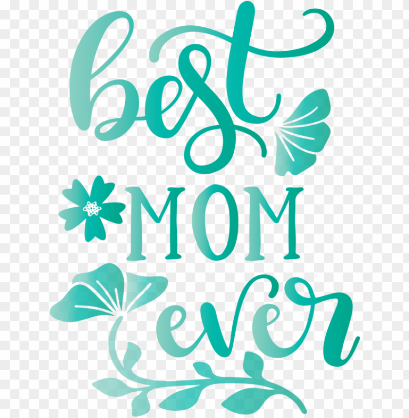 free PNG Mother's Day Text Turquoise Teal for Mothers Day Calligraphy for Mothers Day PNG image with transparent background PNG images transparent