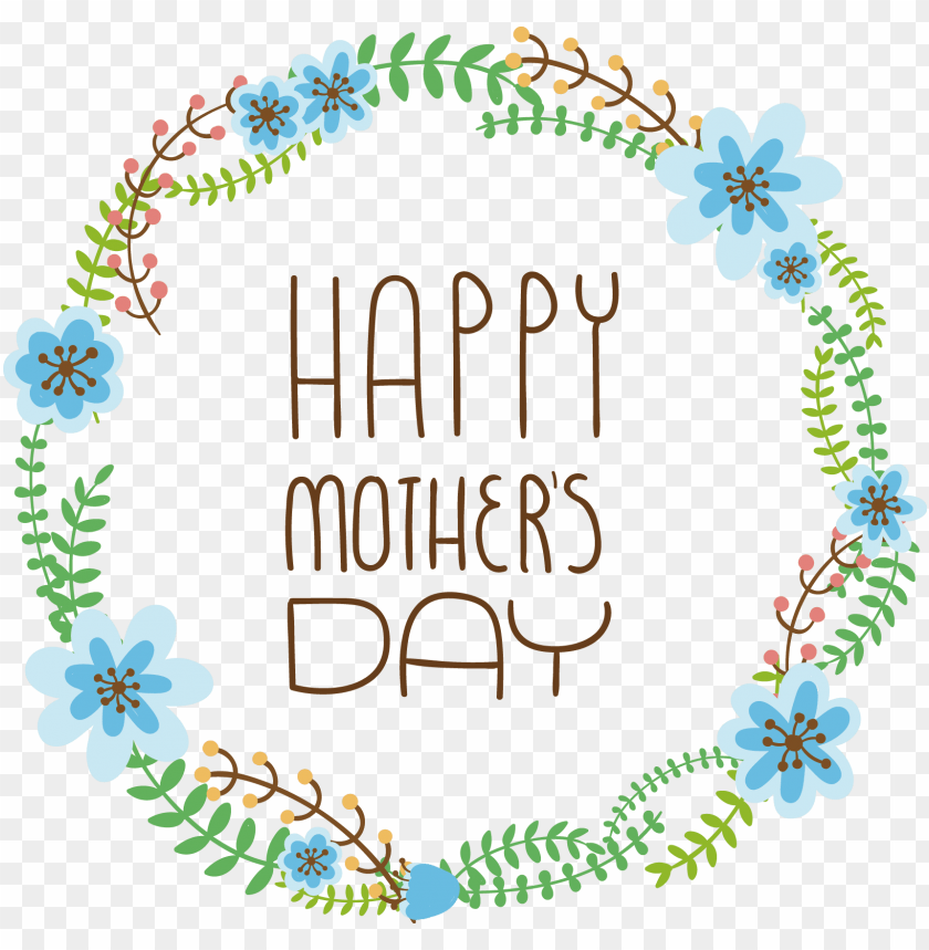 free PNG mothers day wreath flower - mothers day wreath flower PNG image with transparent background PNG images transparent