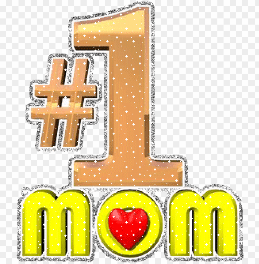 mothers day1 mom - #1 mom animation PNG image with transparent background@toppng.com