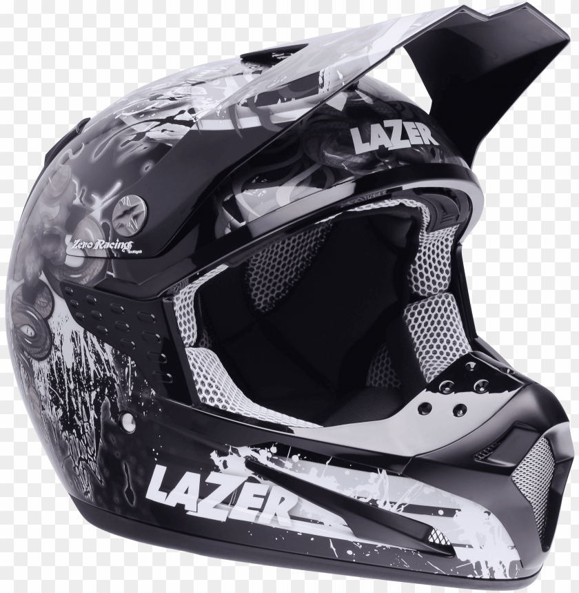 free PNG Download motorcycle helmet lazer smx thin drum black grey white png images background PNG images transparent