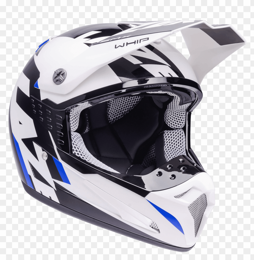 Download motorcycle helmet lazer smx whip white black blue png images background@toppng.com