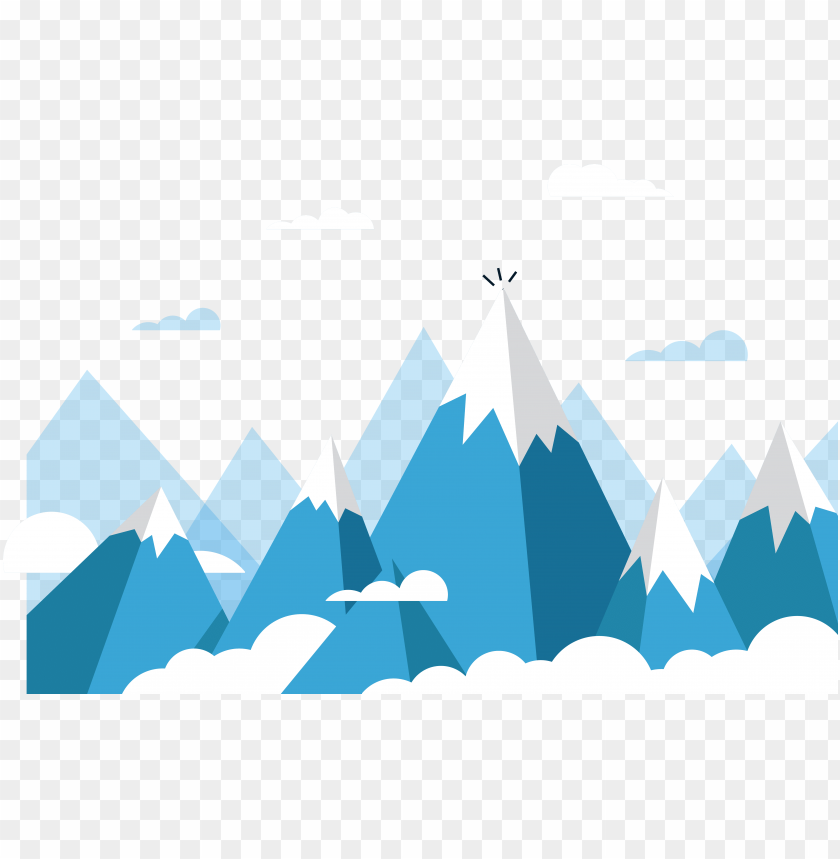 free PNG mount everest euclidean vector mountain - ice mountain vector PNG image with transparent background PNG images transparent