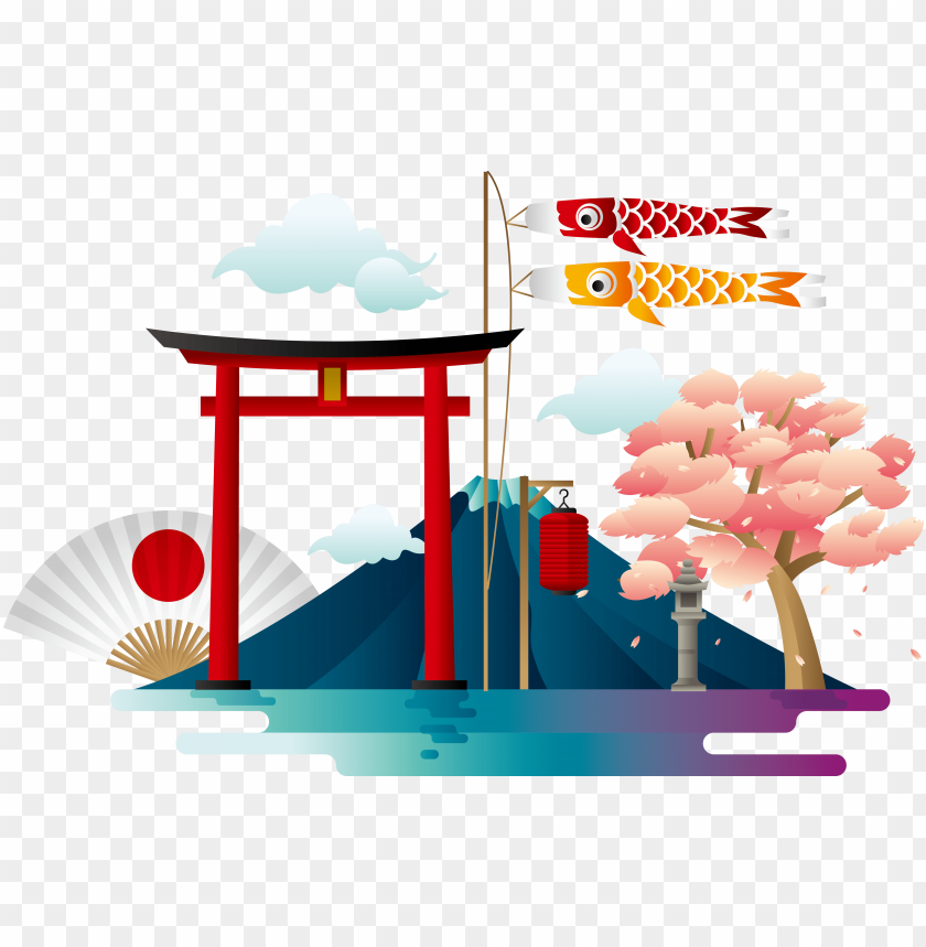 free PNG mount fuji download poster - japan vector free download PNG image with transparent background PNG images transparent