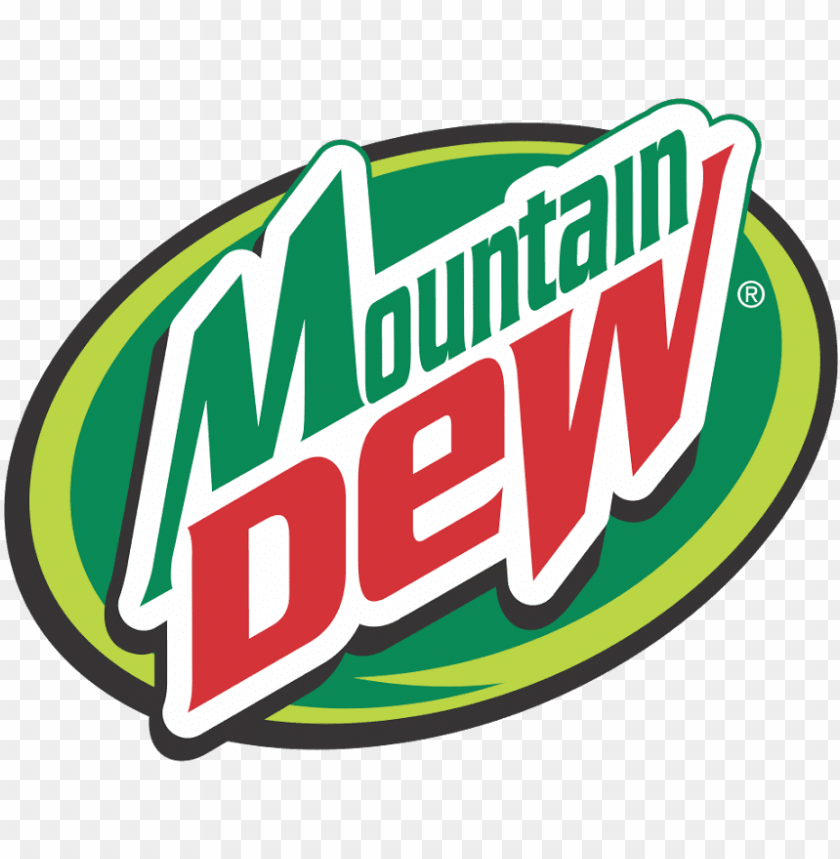free PNG mountain dew logo - mountain dew black and white PNG image with transparent background PNG images transparent