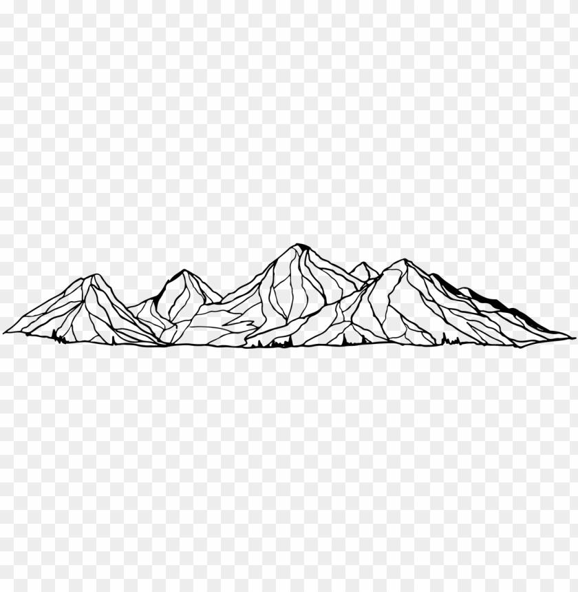 free PNG mountain drawing png - transparent mountain drawing PNG image with transparent background PNG images transparent