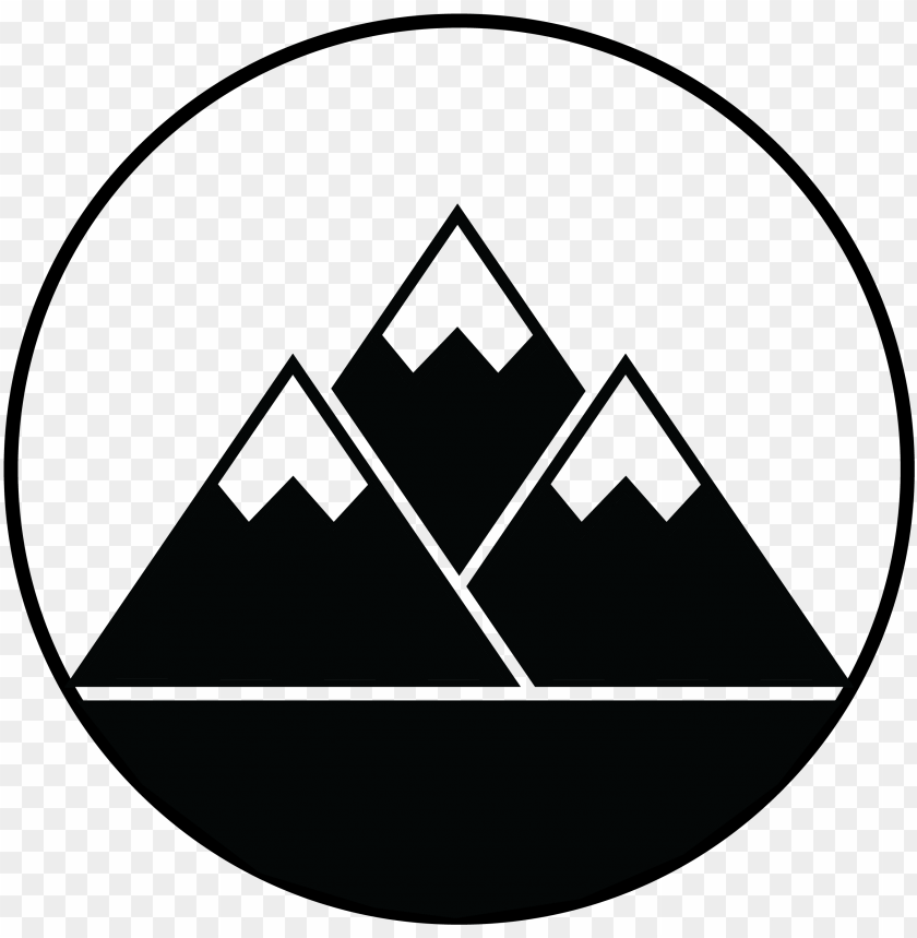 free PNG mountain icon - clipart mountain silhouette PNG image with transparent background PNG images transparent