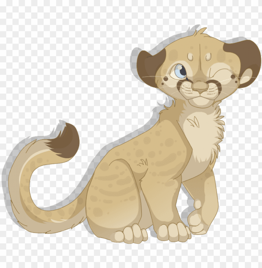 free PNG mountain lion cub by mbpanther - mountain lion drawing cute PNG image with transparent background PNG images transparent