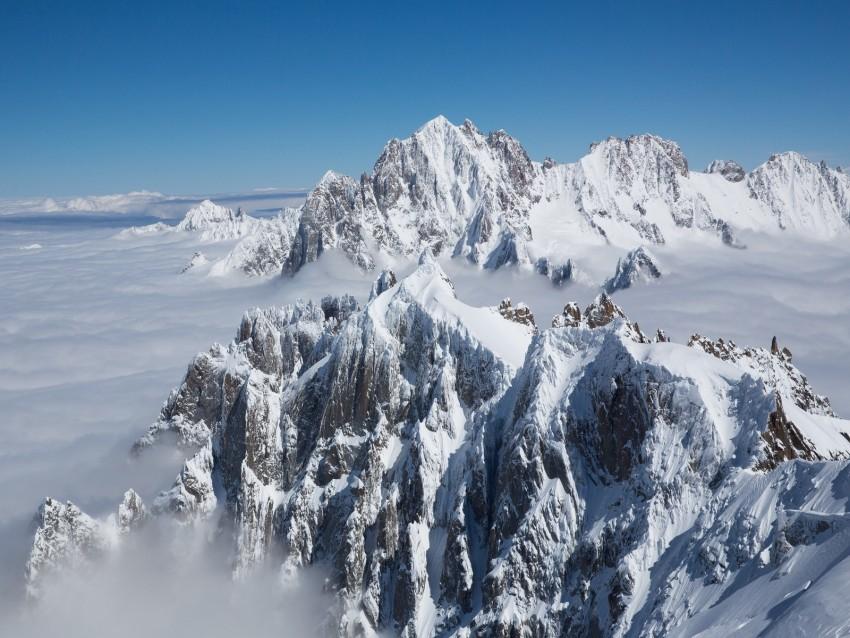 free PNG mountain, peak, clouds, fog, mountain range, mountain peak background PNG images transparent