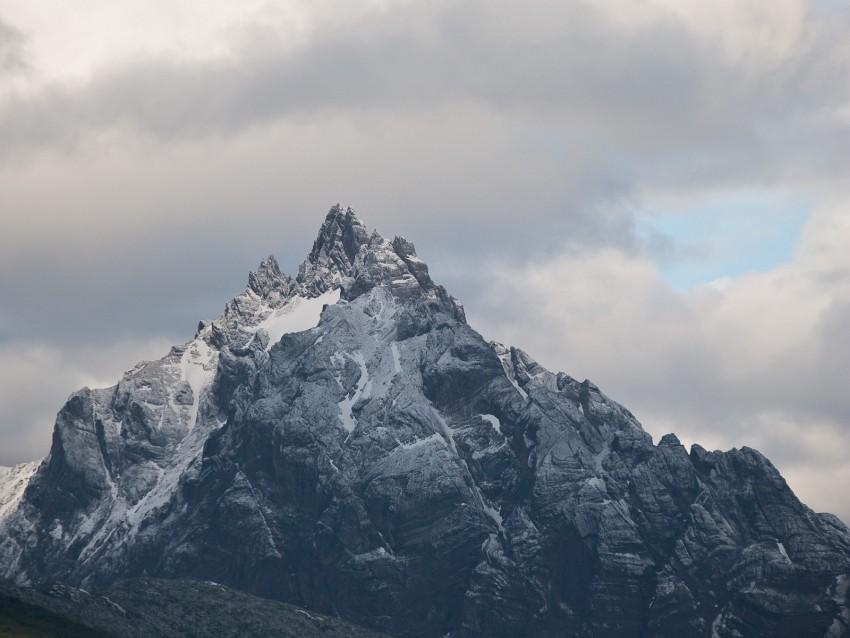 free PNG mountain, peak, clouds, landscape background PNG images transparent