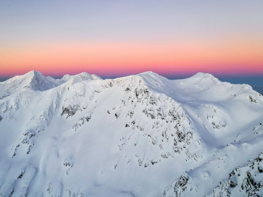 free PNG mountain, peaks, snowy, horizon, sky, romania background PNG images transparent