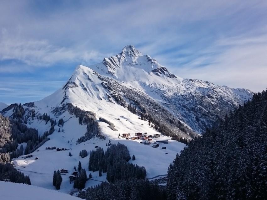 free PNG mountain, winter, snow, peak, mountain landscape, winter landscape background PNG images transparent