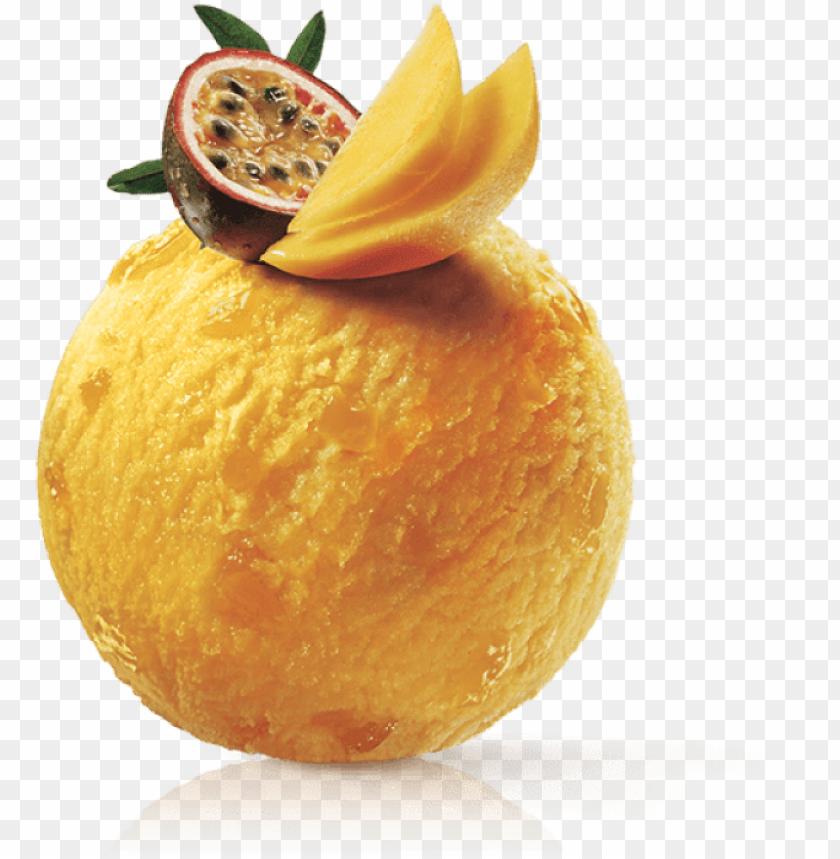 free PNG movenpick passion fruit & mango sorbet PNG image with transparent background PNG images transparent