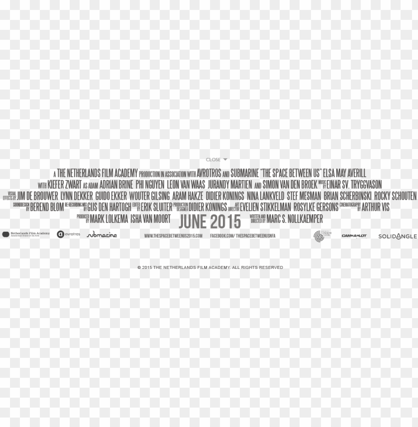 free PNG movie credit png - movie credit text PNG image with transparent background PNG images transparent