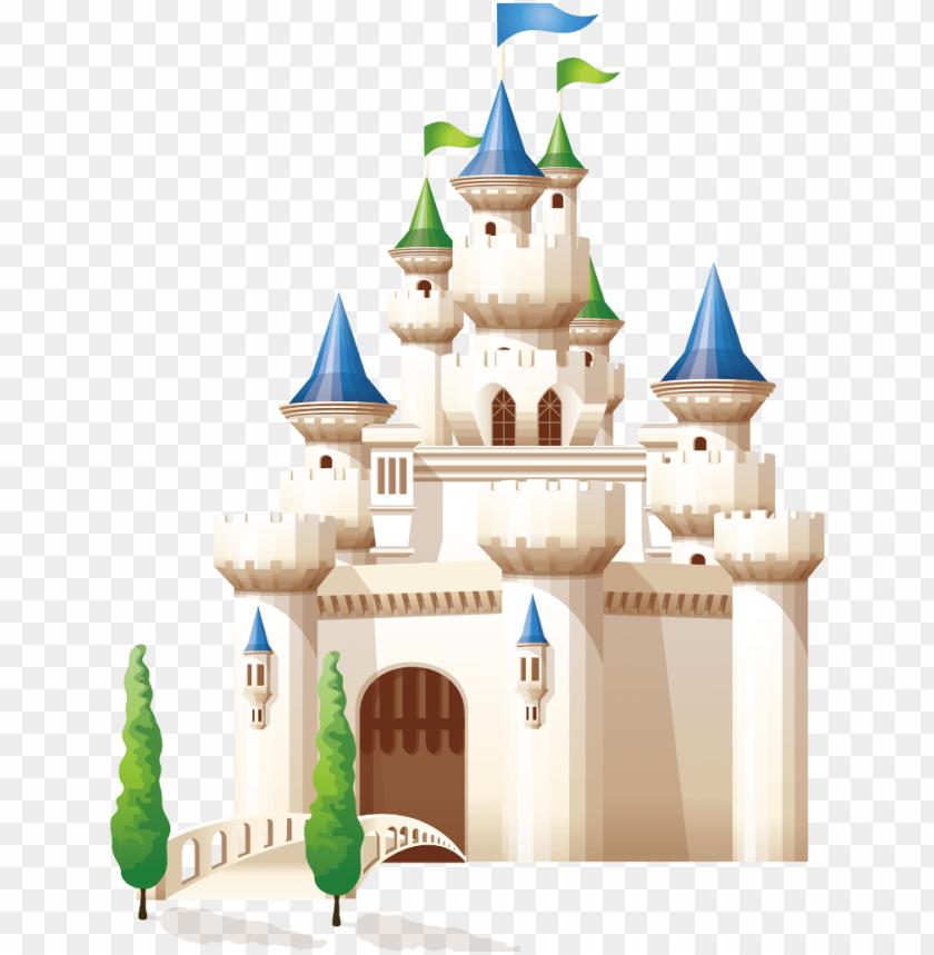 free PNG mq blue castle cartoon building fantasy - castle cartoo PNG image with transparent background PNG images transparent
