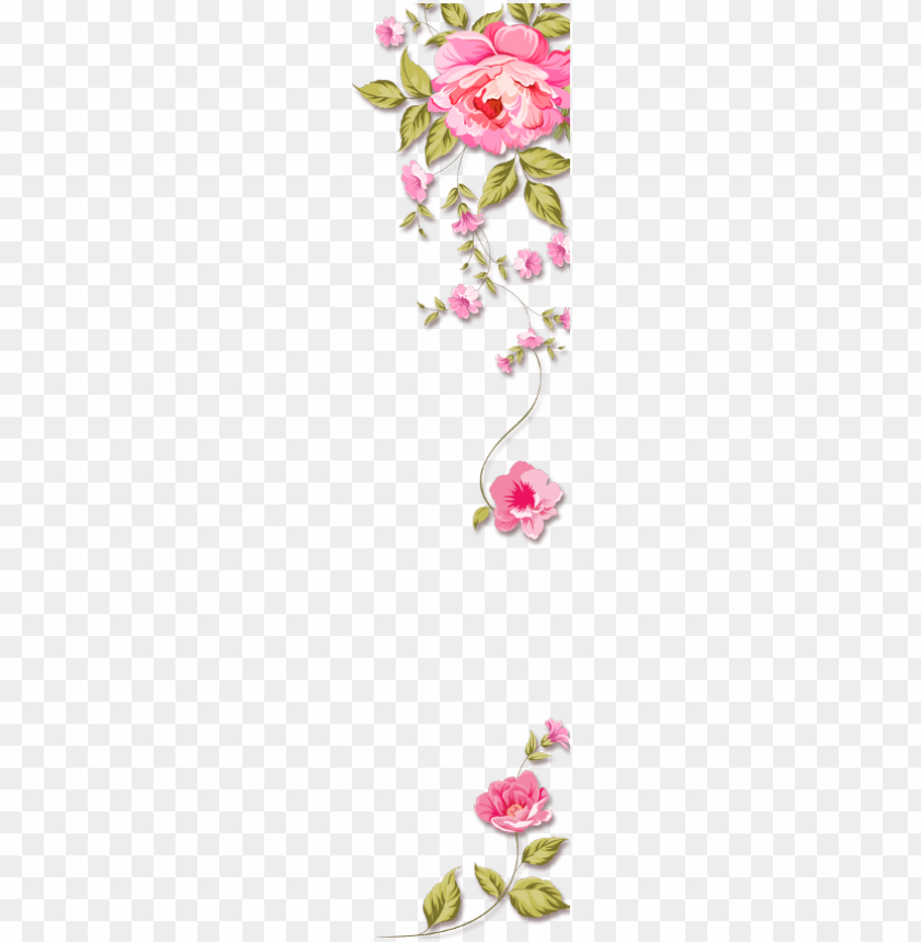 Mq Pink Roses Border Borders Background Of Birthday
