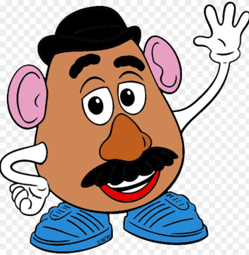 free PNG mrs potato head png jpg freeuse download - mr potato head clip art PNG image with transparent background PNG images transparent