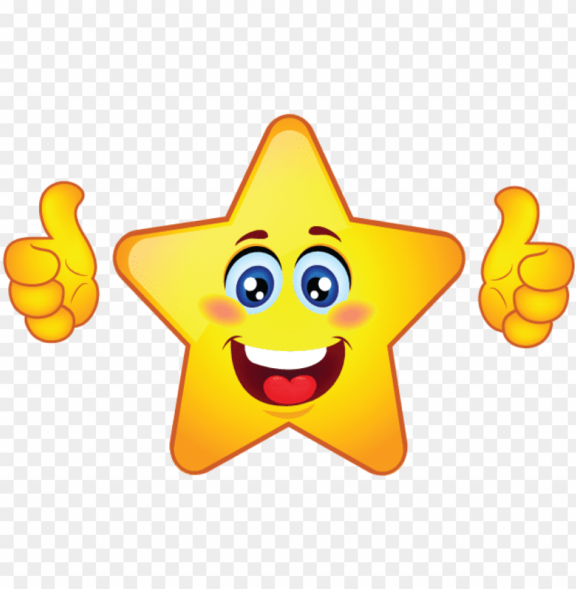 free PNG mrs webb's star workers - thumbs up star clipart PNG image with transparent background PNG images transparent