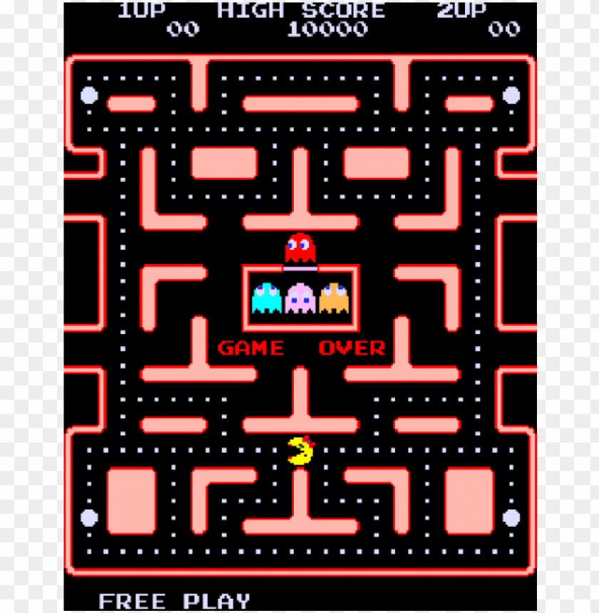 The Best Pac Man Game Over  Images