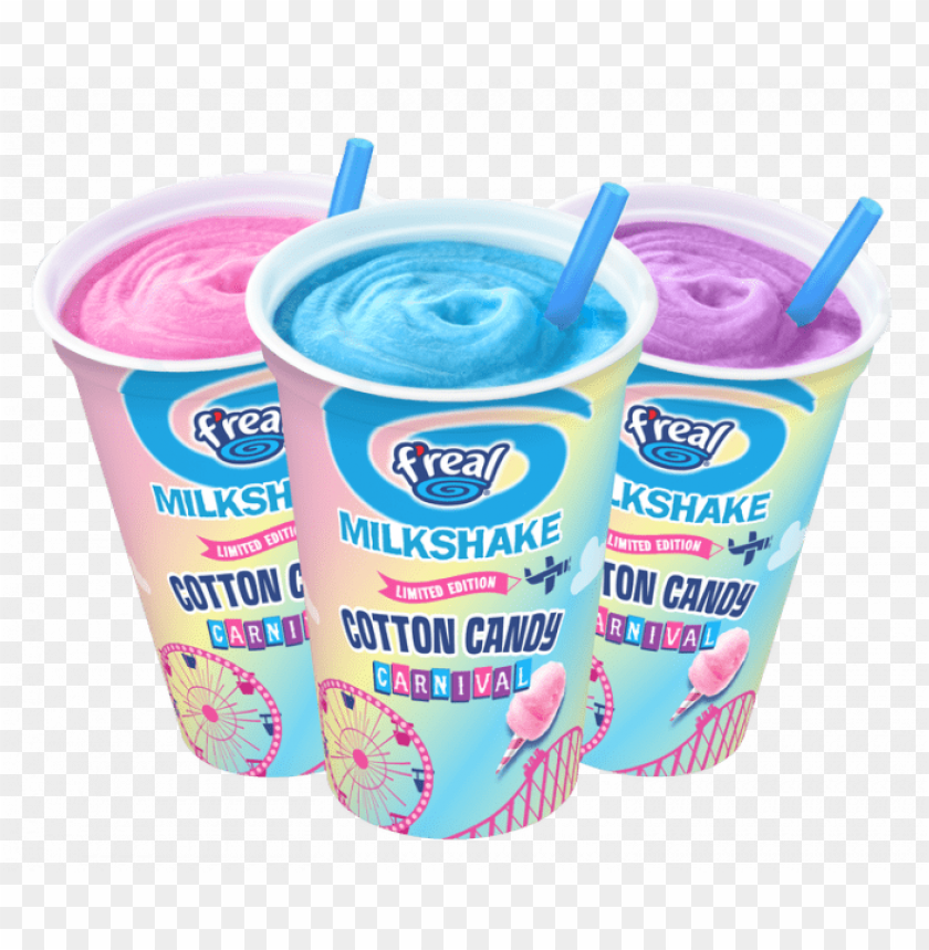 free PNG ms us cottoncandycarnival trio 2018 hires2 - cotton candy f real milkshake PNG image with transparent background PNG images transparent