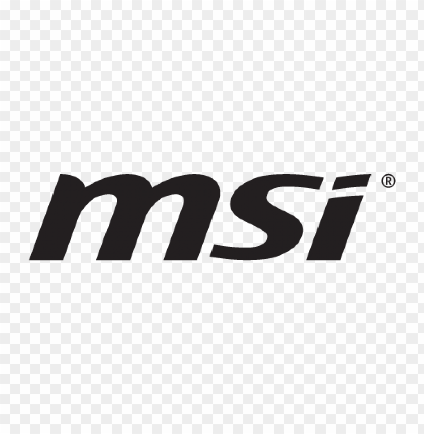 free PNG msi (micro-star international) logo vector PNG images transparent
