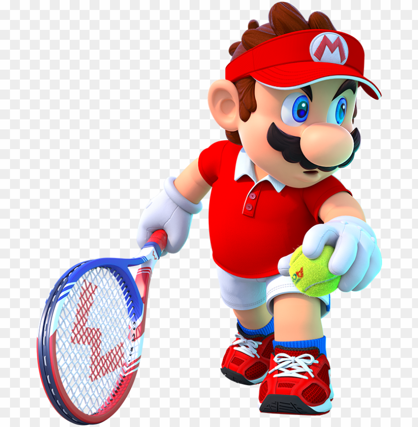 mtaart1 - mario from mario tennis aces PNG image with transparent  background | TOPpng