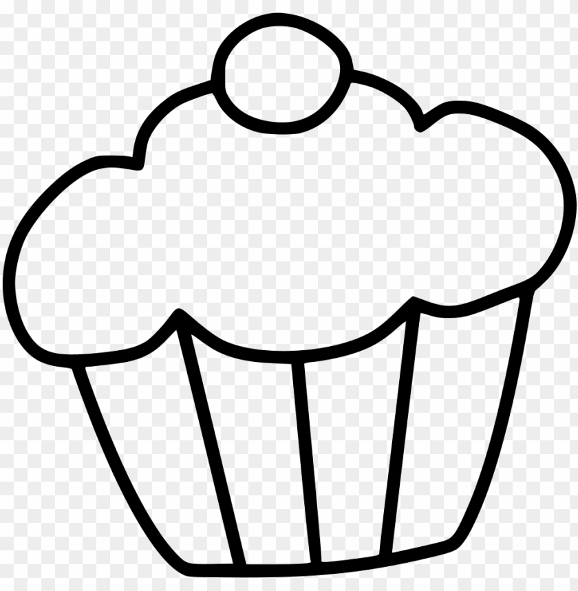 free PNG muffin cake dessert sweet comments - dawing of cake PNG image with transparent background PNG images transparent