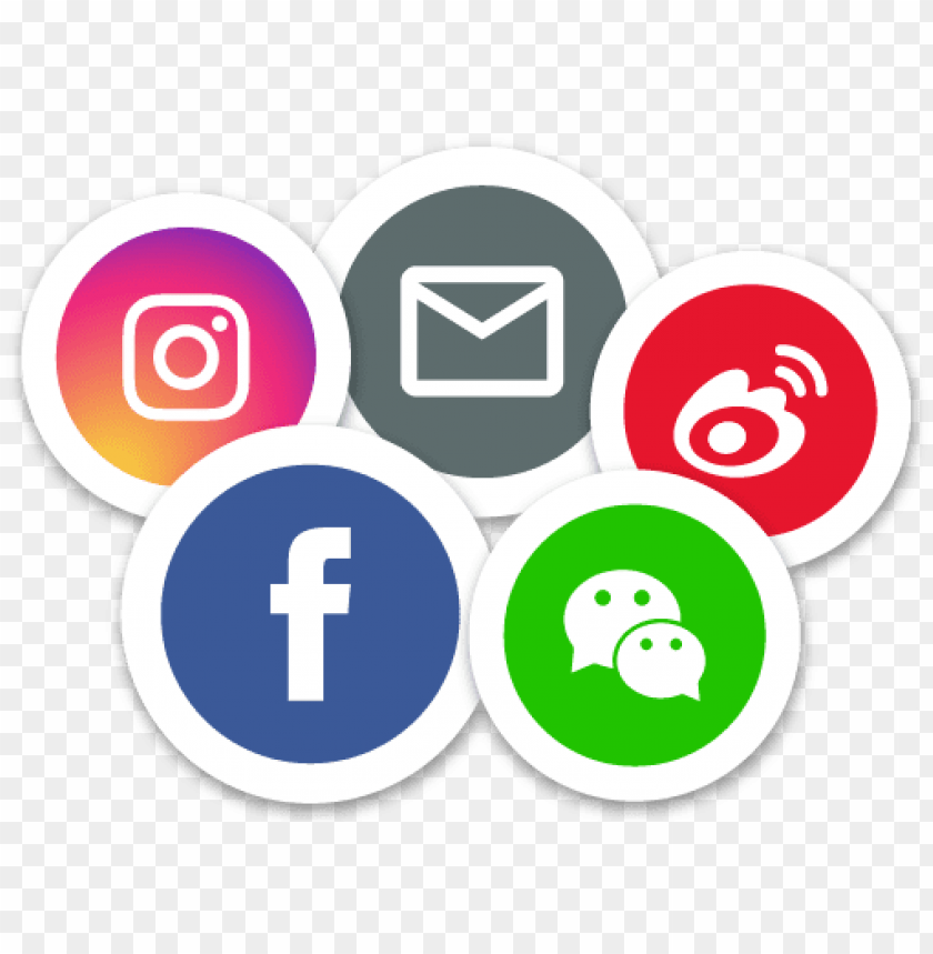 free PNG multiple social media platform supported - all social media PNG image with transparent background PNG images transparent