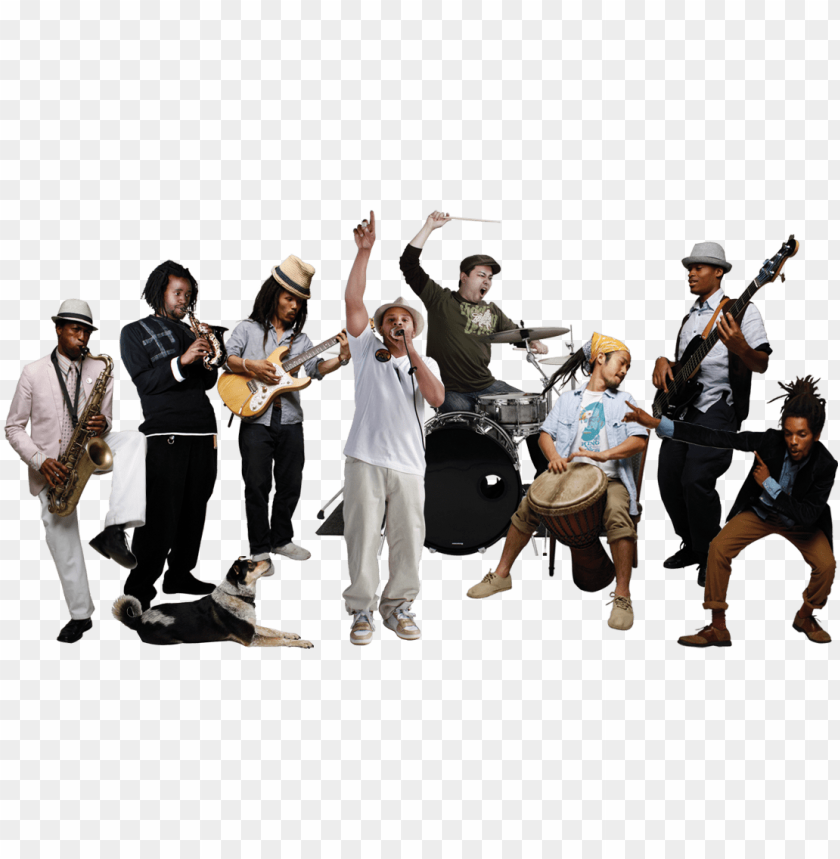 free PNG music band - music group PNG image with transparent background PNG images transparent