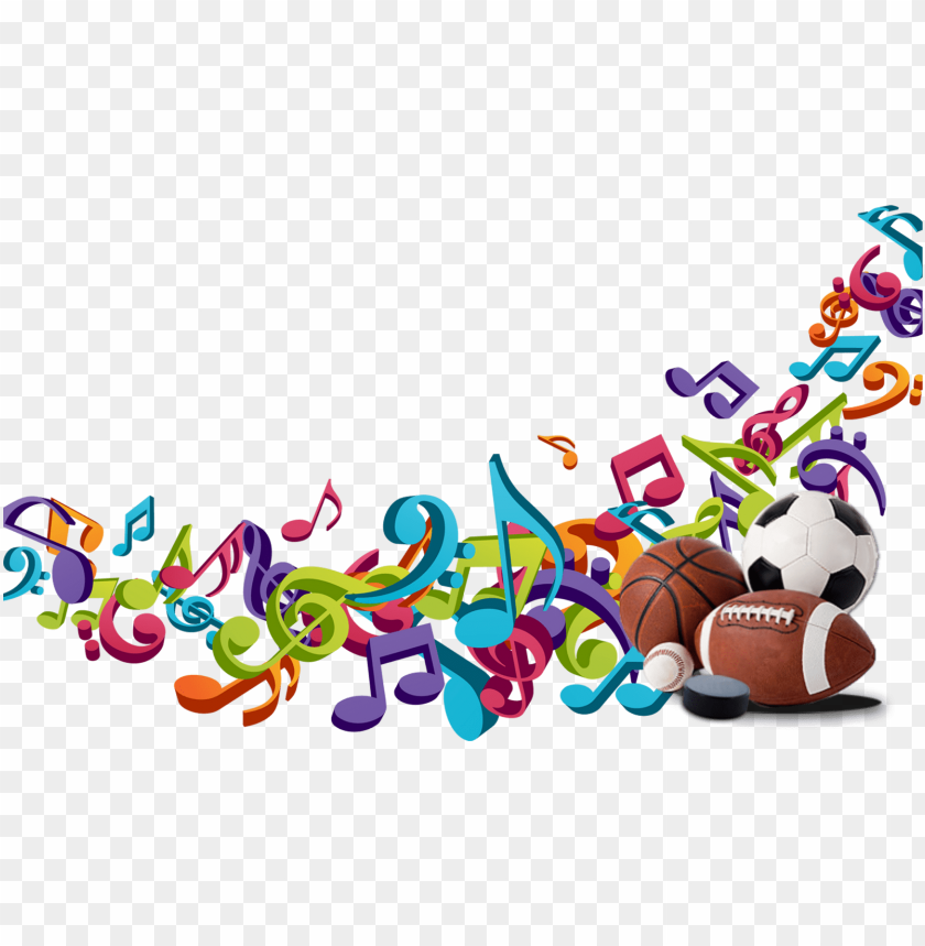 Music For Sports Free Music Clipart Png Image With Transparent Background Toppng
