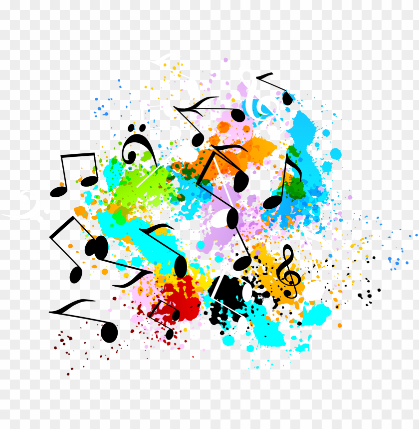free PNG music graffiti symbol musical color decoration banner - music graffiti PNG image with transparent background PNG images transparent