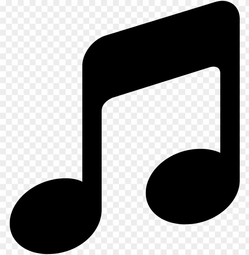free PNG music icon  - music icon black and white png - Free PNG Images PNG images transparent