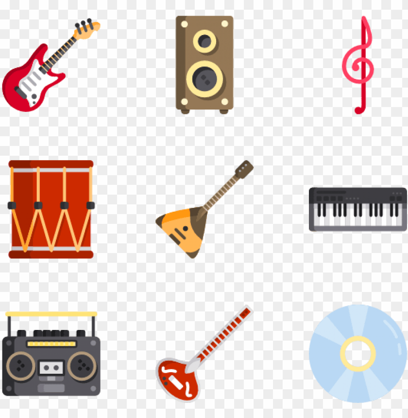 free PNG music instruments icons - music instrument icon vector png - Free PNG Images PNG images transparent