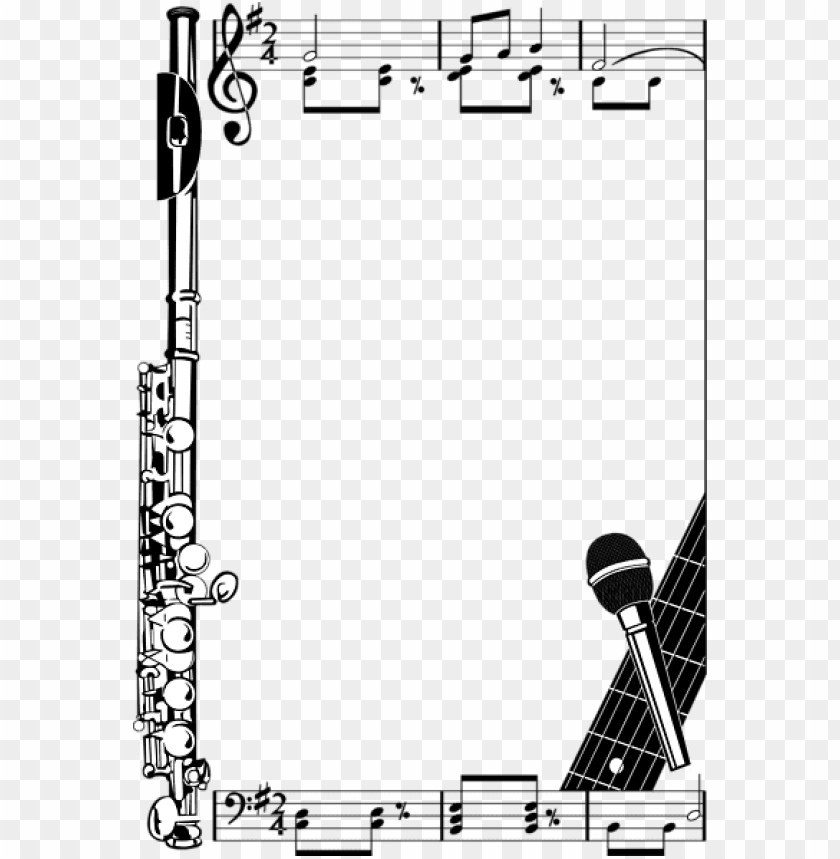 free PNG music note borders cliparts co music border, music - music notes borders PNG image with transparent background PNG images transparent