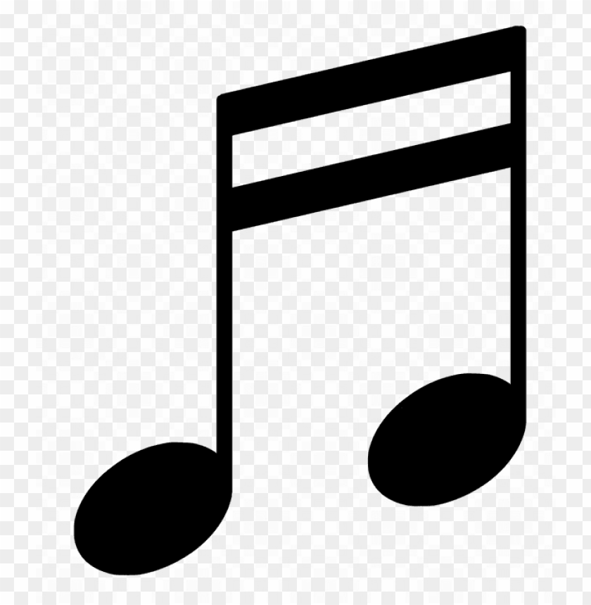 free PNG music note free png image - outline of music notes PNG image with transparent background PNG images transparent
