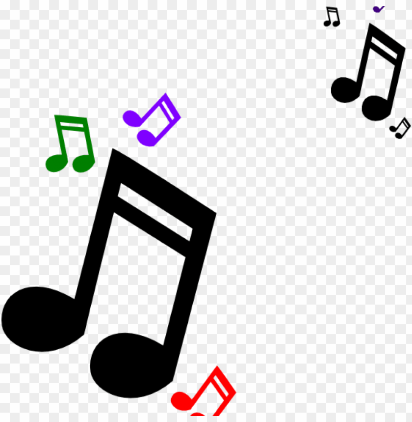free PNG music notes clipart colored clip art at clker vector - free clip art musical notes PNG image with transparent background PNG images transparent