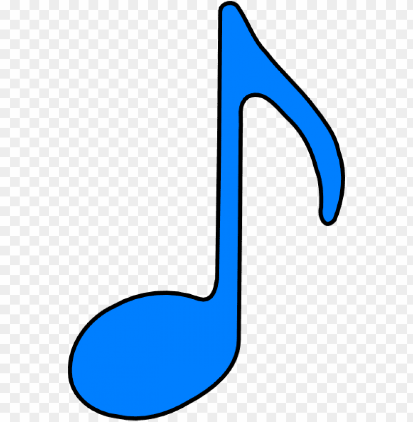 free PNG music notes clipart quavers - musical note blue clip art PNG image with transparent background PNG images transparent