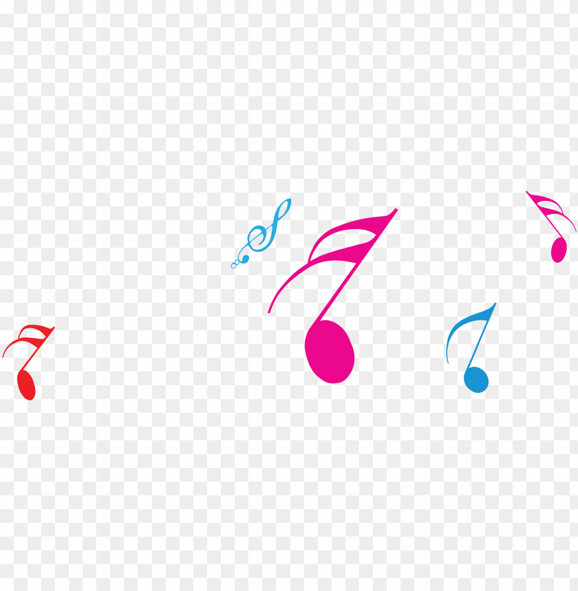 free PNG musical note melody sheet music - color music notes PNG image with transparent background PNG images transparent