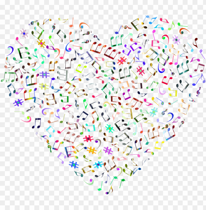 free PNG musical note musical theatre art poster - music heart transparent background PNG image with transparent background PNG images transparent