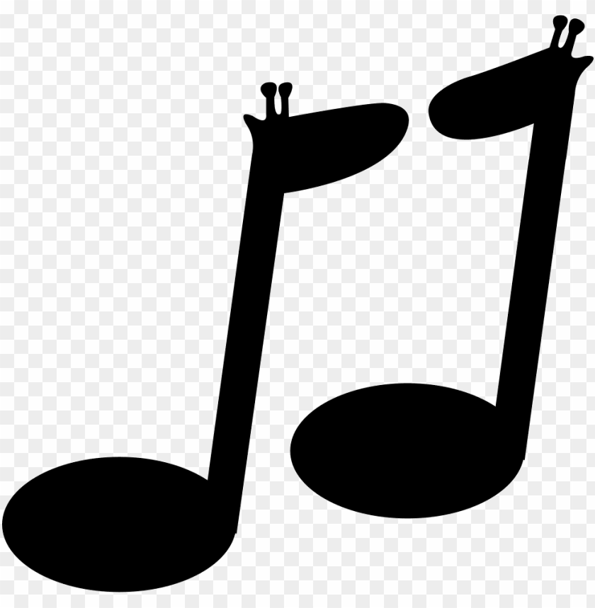 free PNG musical notes couple - nota musical sin fondo PNG image with transparent background PNG images transparent