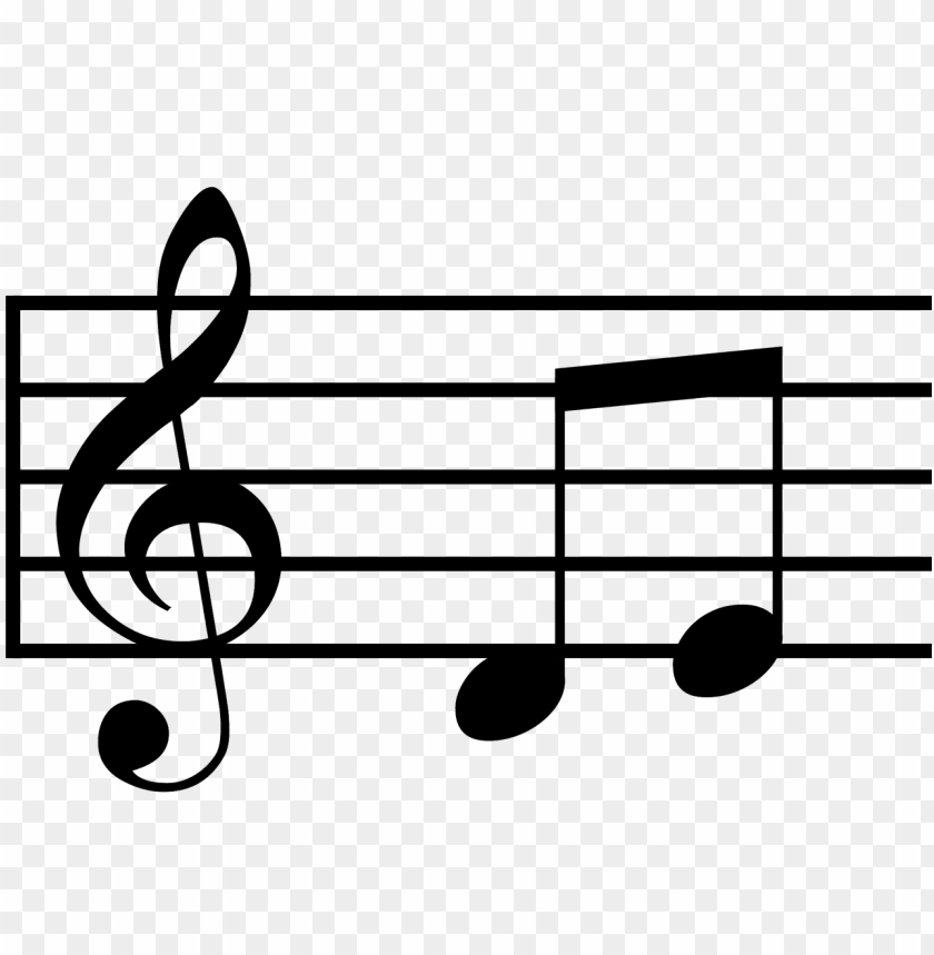 free PNG musical notes treble clef and 2 half notes PNG image with transparent background PNG images transparent