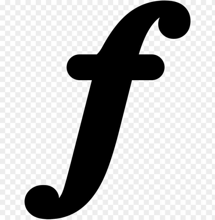 free PNG musical symbol of letter f svg png icon free download - letter f PNG image with transparent background PNG images transparent