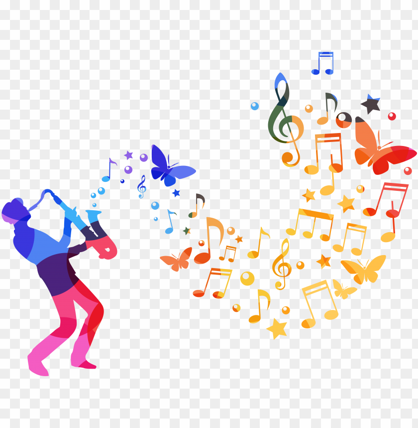 free PNG musician watercolor painting musical note - watercolor music notes desi PNG image with transparent background PNG images transparent