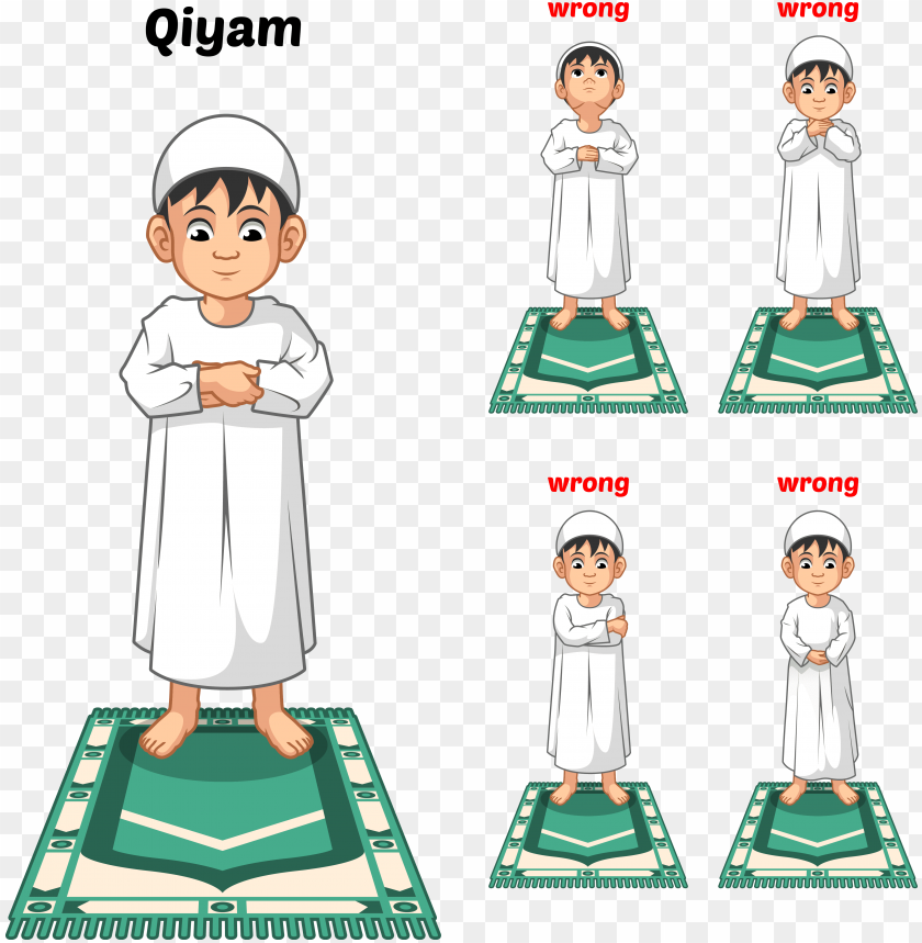 free PNG muslim prayer position guide step by step perform by - muslim prayer positio PNG image with transparent background PNG images transparent