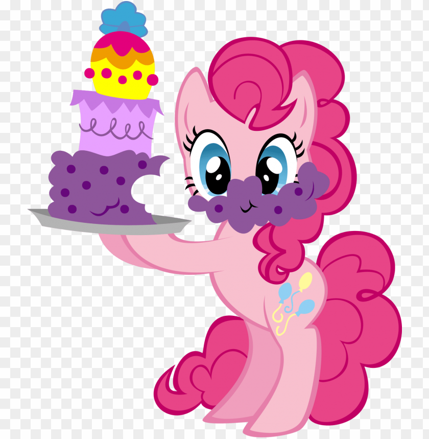 free PNG my little pony birthday png - my little pony birthday pinkie pie PNG image with transparent background PNG images transparent