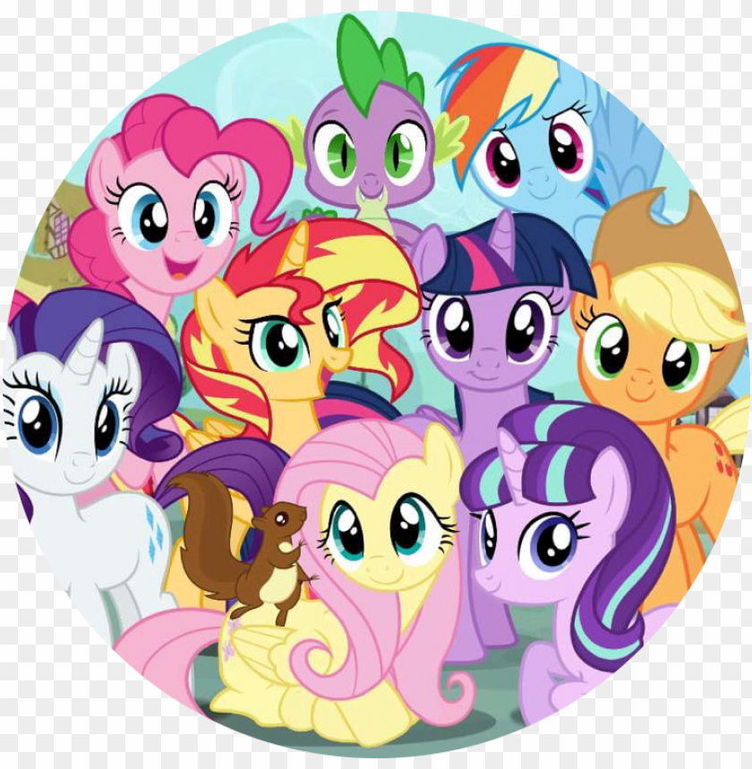 free PNG my little pony - my little pony mane 8 PNG image with transparent background PNG images transparent