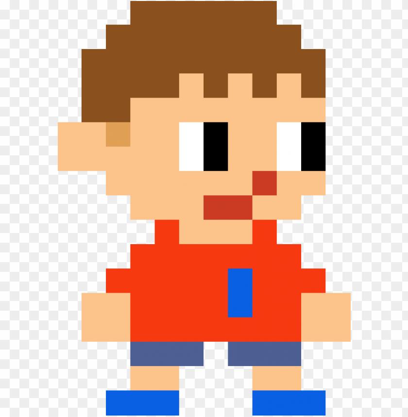 Mystery Mushroom Villager Super Mario Maker Villager Png