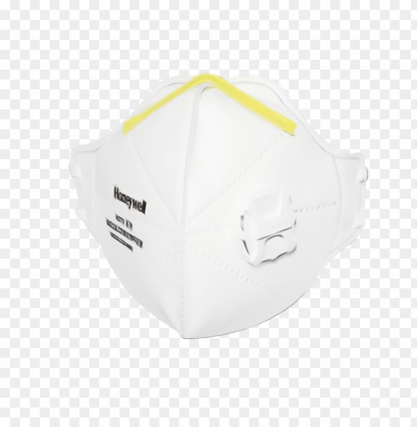 free PNG N95 doctor Mask  White yellow PNG image with transparent background PNG images transparent
